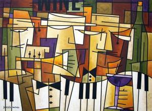painting by Chicago artist Joseph Catanzaro
